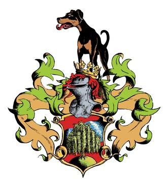 Dobermann Wappen auf Hundeversicherungen24.com